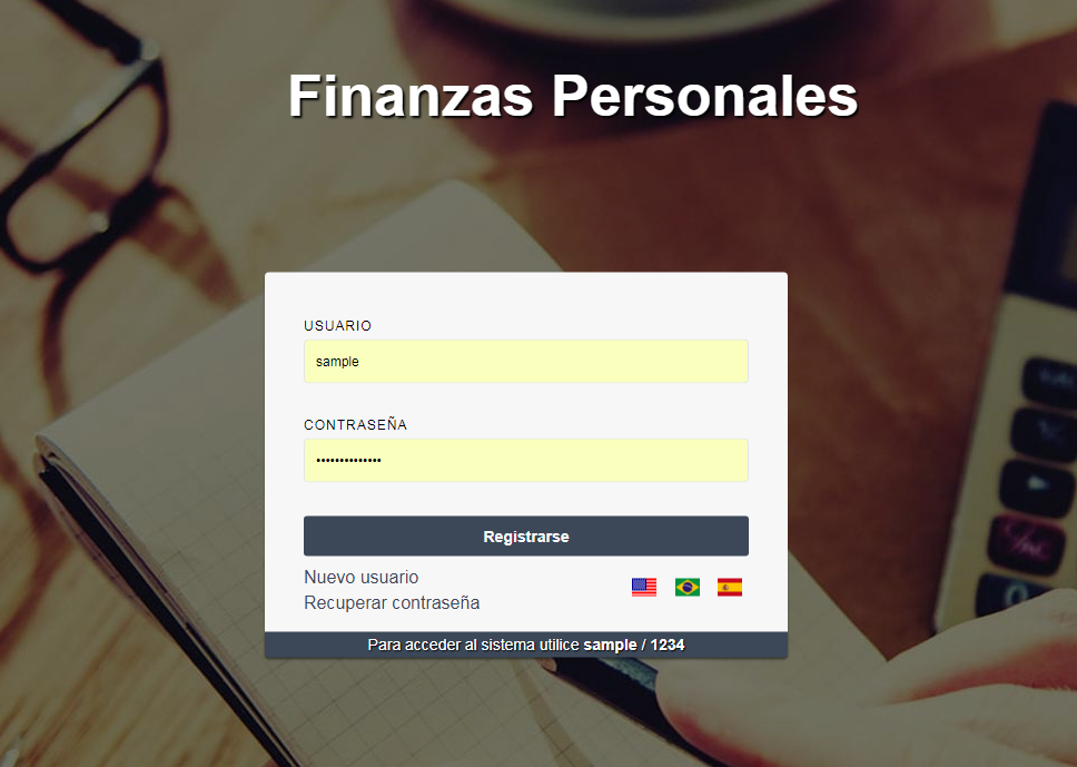 Finanzas Personales WebApp