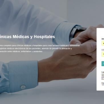 HealthCare Sistema para clínicas médicas y hospitales