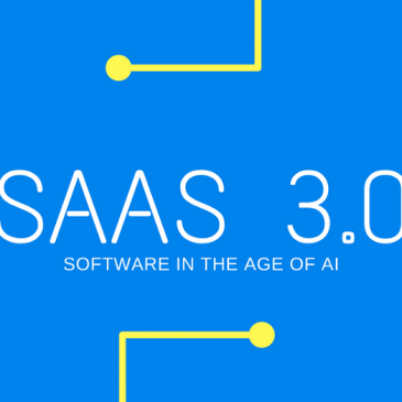 SaaS 3.0 : Invisible SaaS with Machine Learning