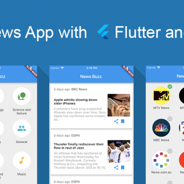 Flutter hands on: Building a News App