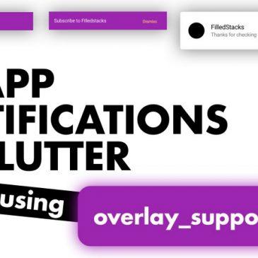 In-App notifications inFlutter