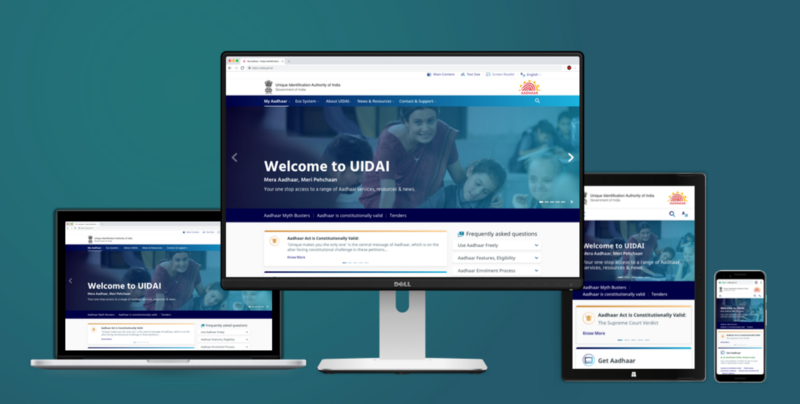 Redesigning the Aadhaar Website: UX Case-study